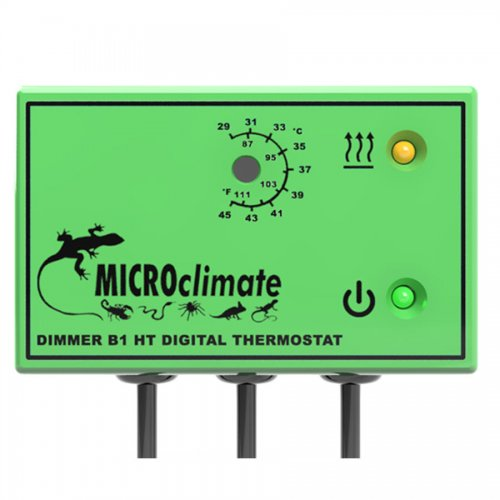 Micro Climate B1HT High Temperature Dimming Thermostat Green