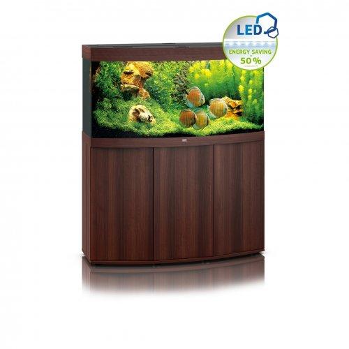 Juwel Vision 260 LED Aquarium with Cabinet Dark Wood