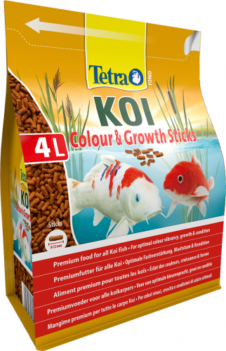 Tetra Pond Koi Colour & Growth Sticks 1200g / 4L