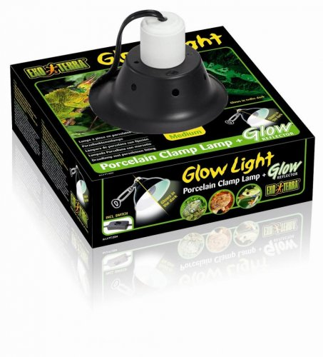 Exo Terra Glow Light Clamp Lamp Medium