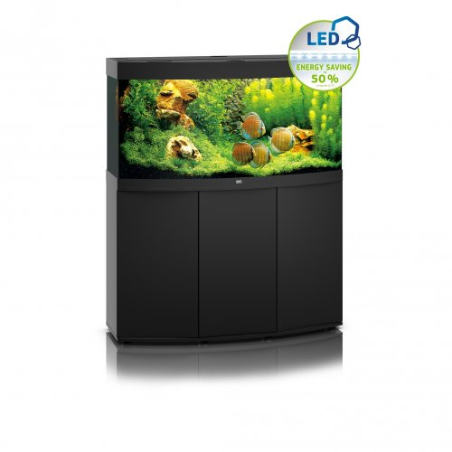 Juwel Vision 260 LED Aquarium with Cabinet Black