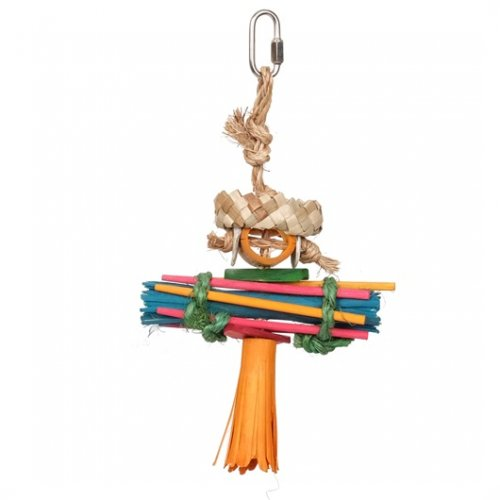 HARI Rustic Treasure Rasta Bird Toy