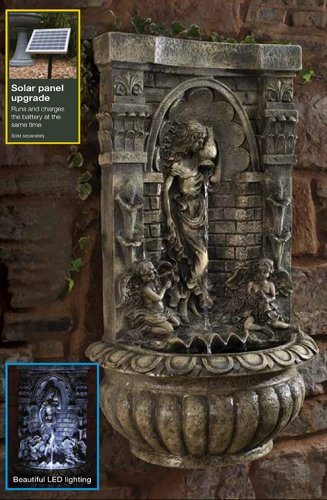 Blagdon Liberty Aquarius Wall Fountain Feature