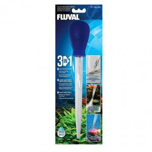 Fluval 3 in 1 Waste Remover & Feeder 28cm