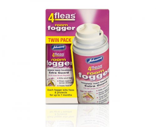 Johnsons 4Fleas Fogger Twin Pack