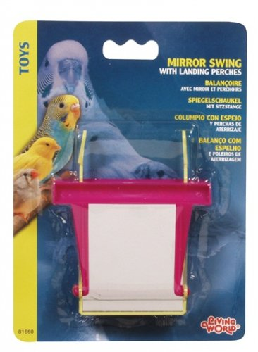Living World Mirror Swing with Landing Perches