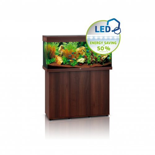 Juwel Rio 180 LED Aquarium with Cabinet Dark Wood