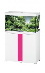 Eheim Vivaline LED 126 Aquarium with Cabinet White with Candy Panel