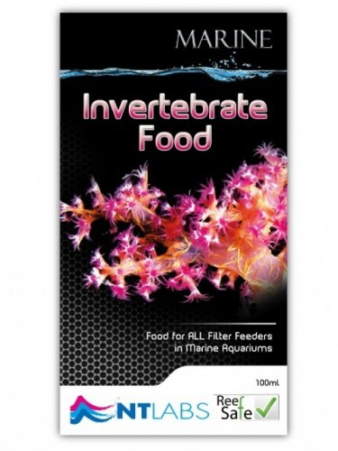 NT Labs Marine Invertebrate Food 100ml