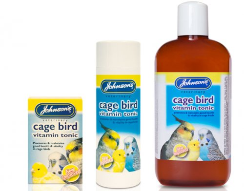 Johnson's Cage Bird Vitamin Tonic 15ml