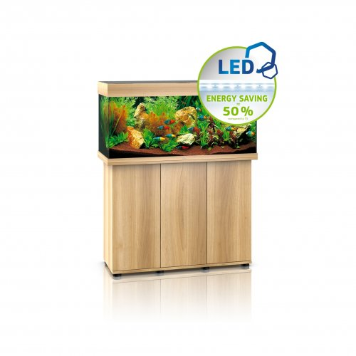 Juwel Rio 180 LED Aquarium with Cabinet Light Wood