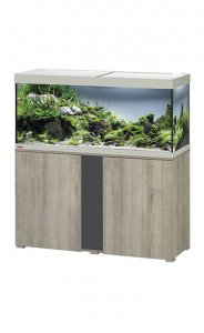 Eheim Vivaline LED 240 Aquarium with Cabinet Oak Grey with Anthracite Panel