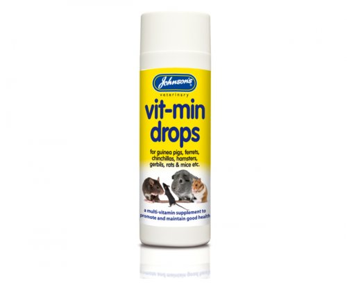 Johnsons Small Animal Vit-Min Drops 100ml