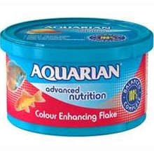 Aquarian Colour Flake Food 25g