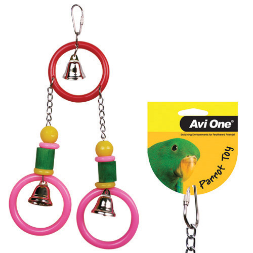 Avi One Acrylic 3 Rings with 3 Bells