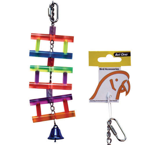 Avi One Acrylic Ladder with Bell