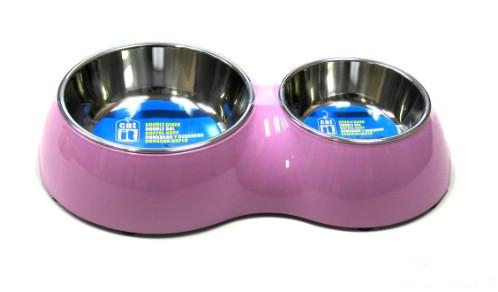 Catit Double Diner Pink