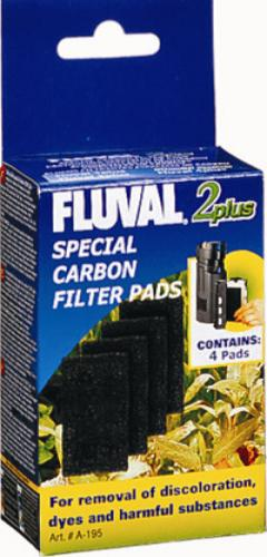 Fluval 2 Plus Carbon (4pcs)