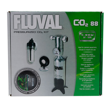 Fluval Pressurized CO2 Kit 88g