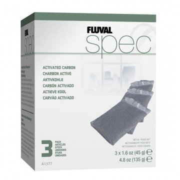 Fluval Spec/Flex/Evo Replacement Carbon Bags Pack Of 3