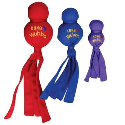 Kong Wubba Small Available In Red, Blue And Purple