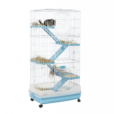 Little Zoo Finlay Ranger Cage Blue