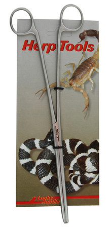 Lucky Reptile Angular Feeding Tongs 25cm