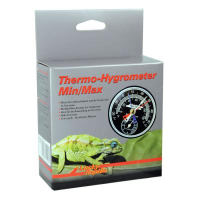 Lucky Reptile Thermometer/Hydrometer Min/Max LTH-23