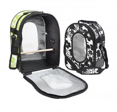 Rainforest Travel Bag Large Black