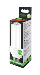 Reptile Systems Compact Pro D3 6% UVB 23W Lamp