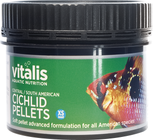 Vitalis Central/South America Cichlid Pellet X-Small 120g