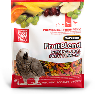 ZuPreem Fruit Blend Medium/Large 2lb (0.90kg)