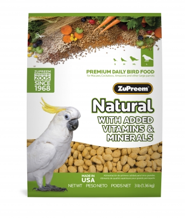 ZuPreem Natural Large 3.0lb (1.36kg)