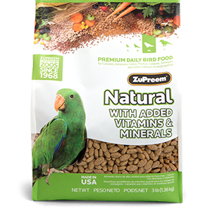 ZuPreem Natural Medium/Large 20.0lb (9.10kg)